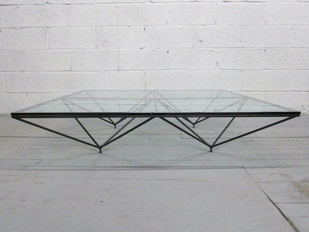 paolo piva for b b italia coffee table at 1stdibs