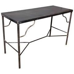 Edwardian Dark Iron Table
