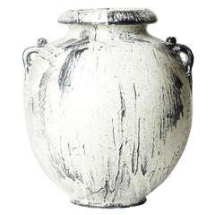 Fine Neoclassical / Skønvirke Vase with Handles by Svend Hammershøi