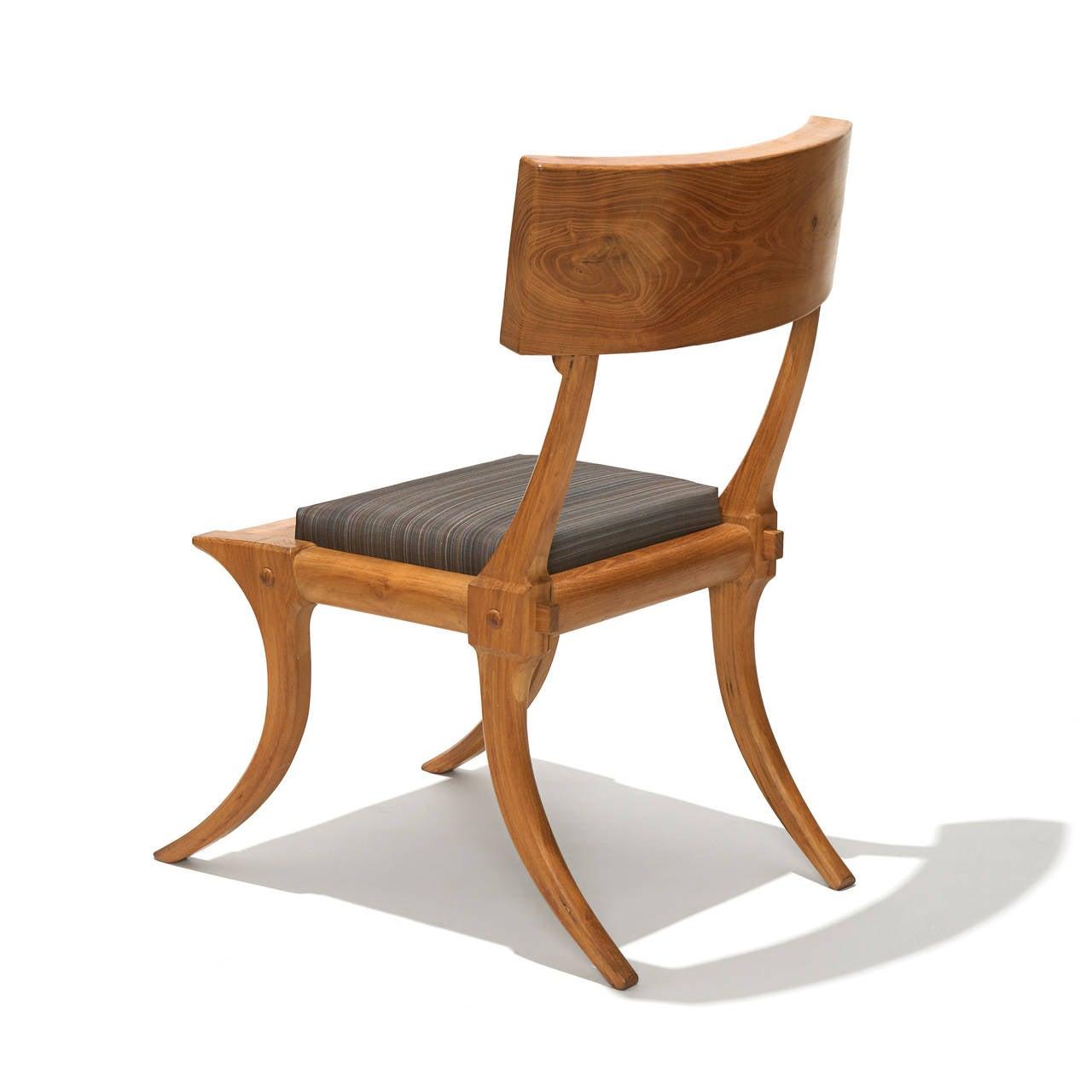 Klismos Chair in Pine by Unknown 20th Century Danish