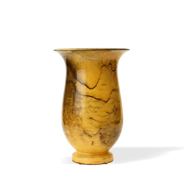 monumental classical form vase by svend hammersh i attributed for k hler for sale at 1stdibs. Black Bedroom Furniture Sets. Home Design Ideas