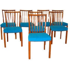 8 dining chairs by Danish Cabinet maker in mahogany