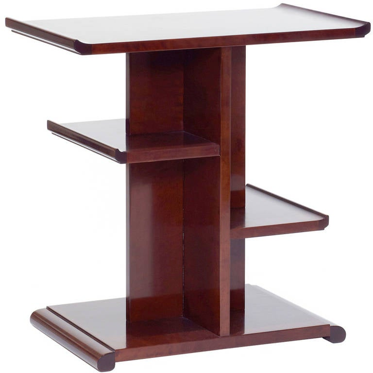swedish modern classicism occasional table or tag re in birch at 1stdibs. Black Bedroom Furniture Sets. Home Design Ideas