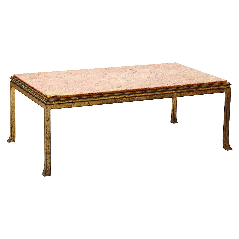 Coffee Table With Asian Inspired Details By Maison Ramsay At 1stdibs