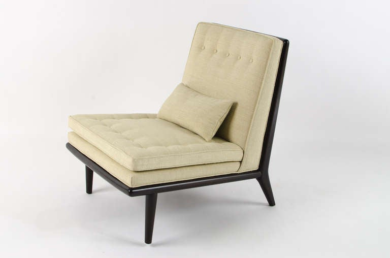 T h robsjohn gibbings petit chaise longue 1950s at 1stdibs for Chaise longue a petit prix