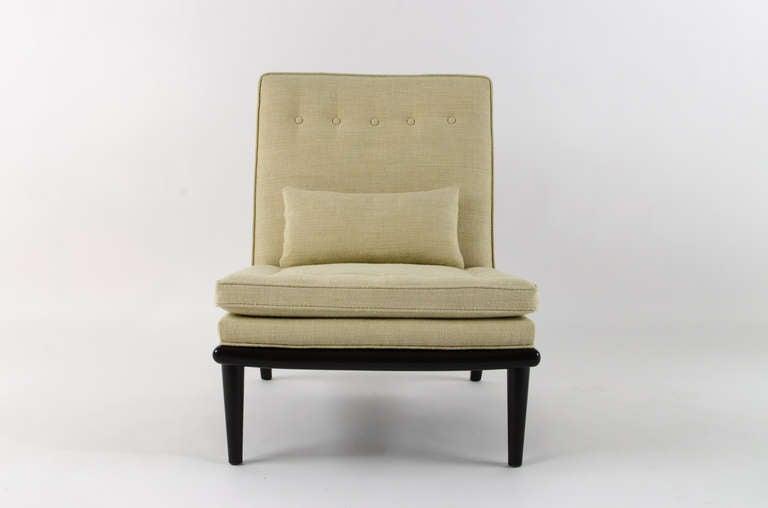 T h robsjohn gibbings petit chaise longue 1950s for sale for Chaise longue petit prix