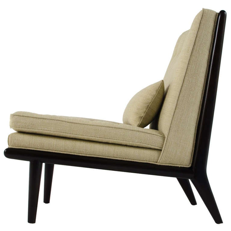 T h robsjohn gibbings petit chaise longue 1950s at 1stdibs for 1950s chaise lounge