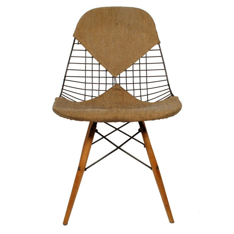 charles eames 39 dkw 2 39 wire bikini chair at 1stdibs. Black Bedroom Furniture Sets. Home Design Ideas