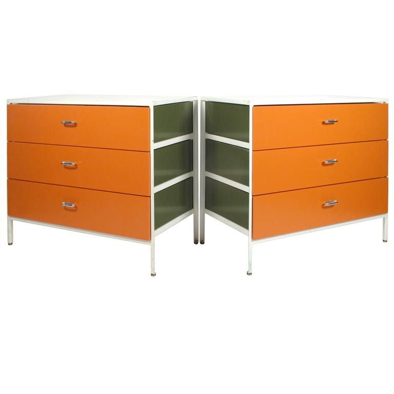 George Nelson Steel Frame Dressers 1950 S At 1stdibs