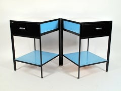 George Nelson Steel-Frame Nightstands image 2