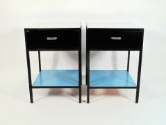 George Nelson Steel-Frame Nightstands image 4