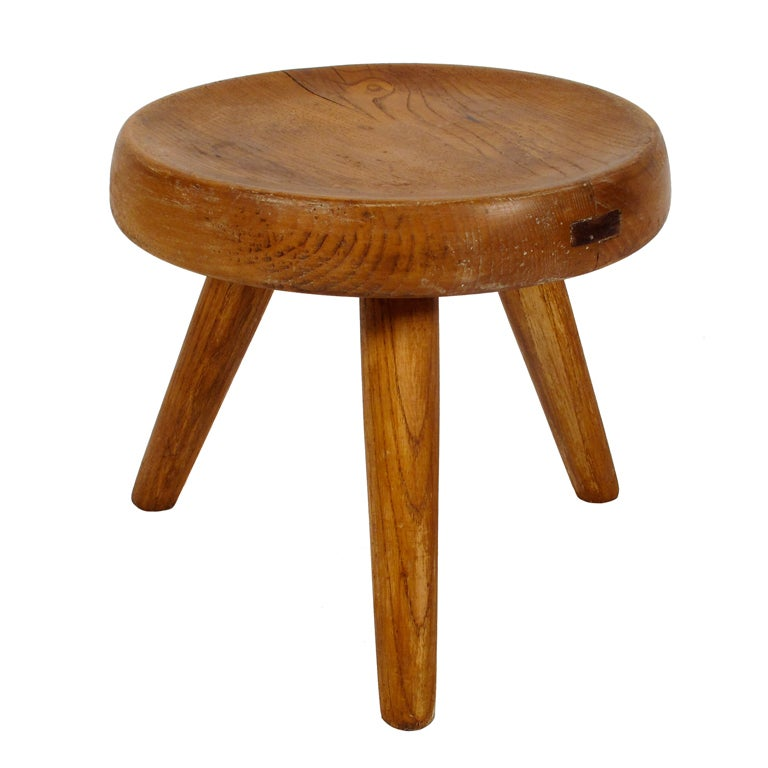 Charlotte Perriand Tripod Stool Steph Simon At 1stdibs