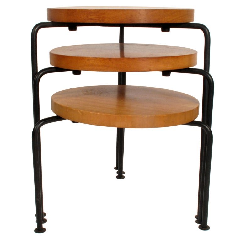 Luther Conover Stacking Stools At 1stdibs