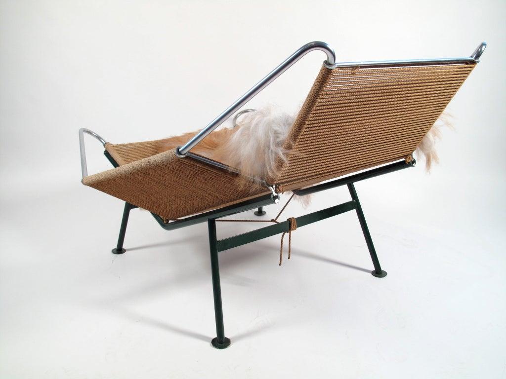 ... Flag Halyard Chair Original By Hans Wegner Flag Halyard Lounge Chair  1950 Denmark At 1stdibs ...