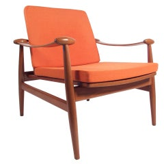 Finn Juhl Teak Lounge Chair 1950's