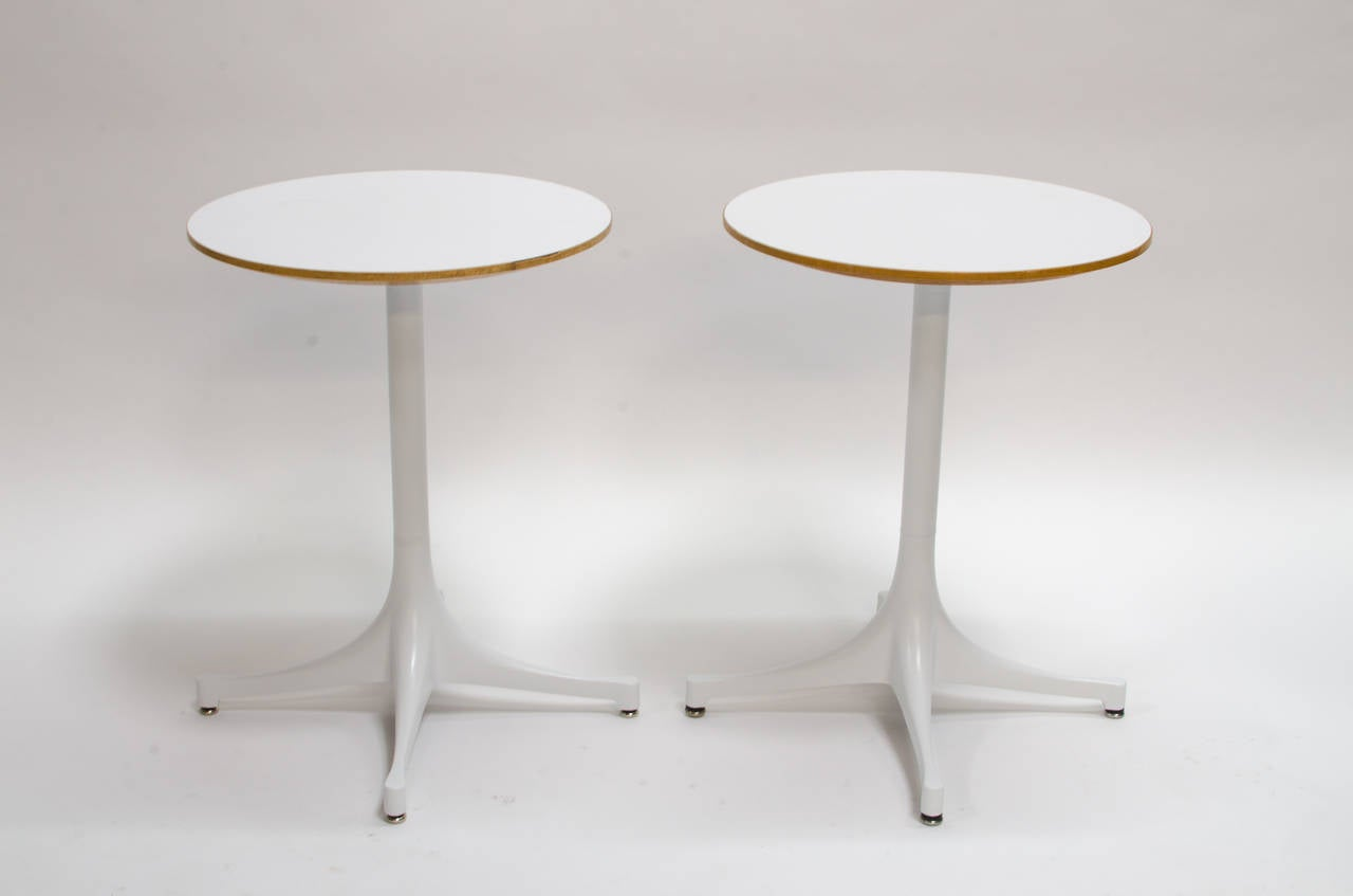 George nelson swag leg side tables model 5451 at 1stdibs for Nelson swag leg table