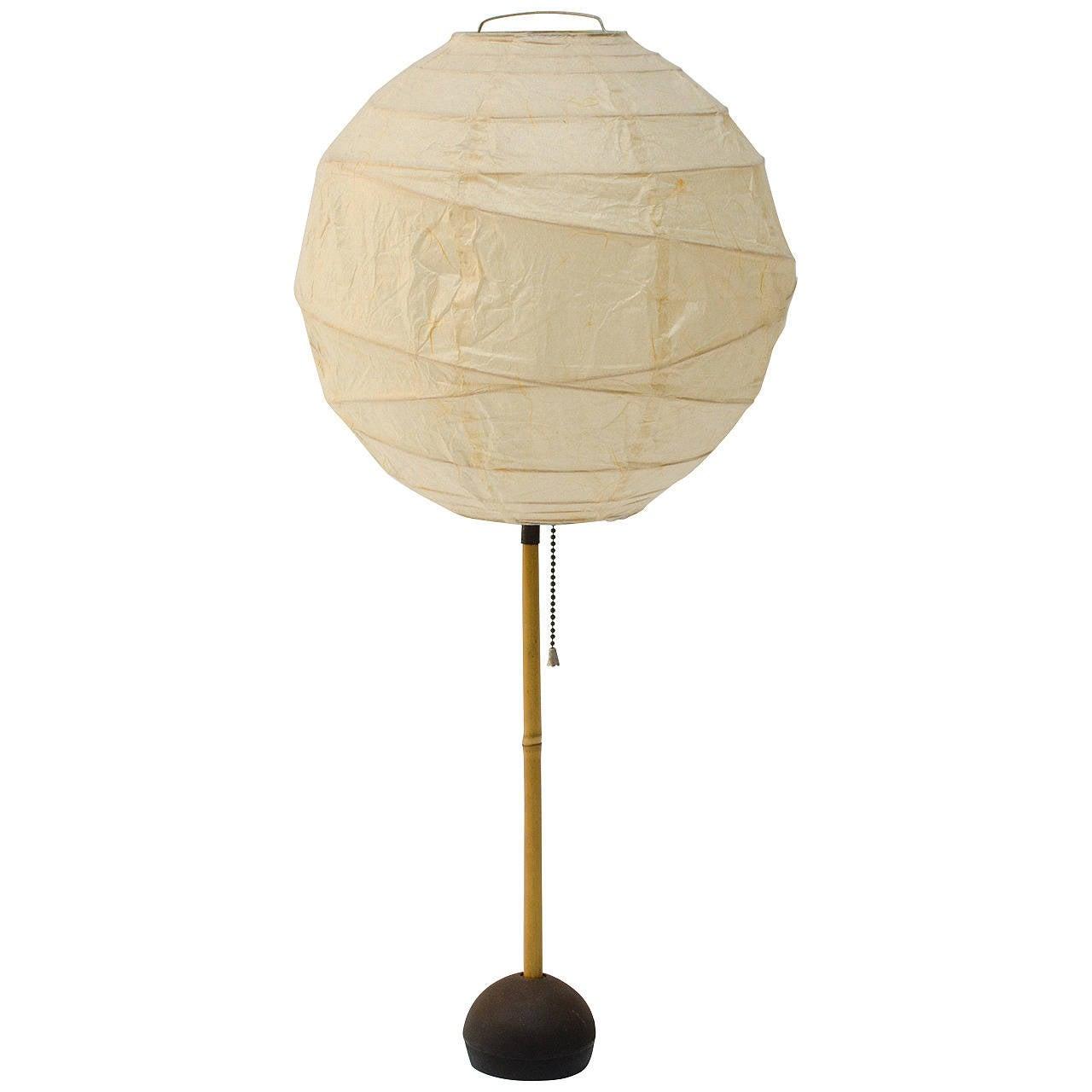 Isamu Noguchi Akari Bamboo Table Lamp At 1stdibs