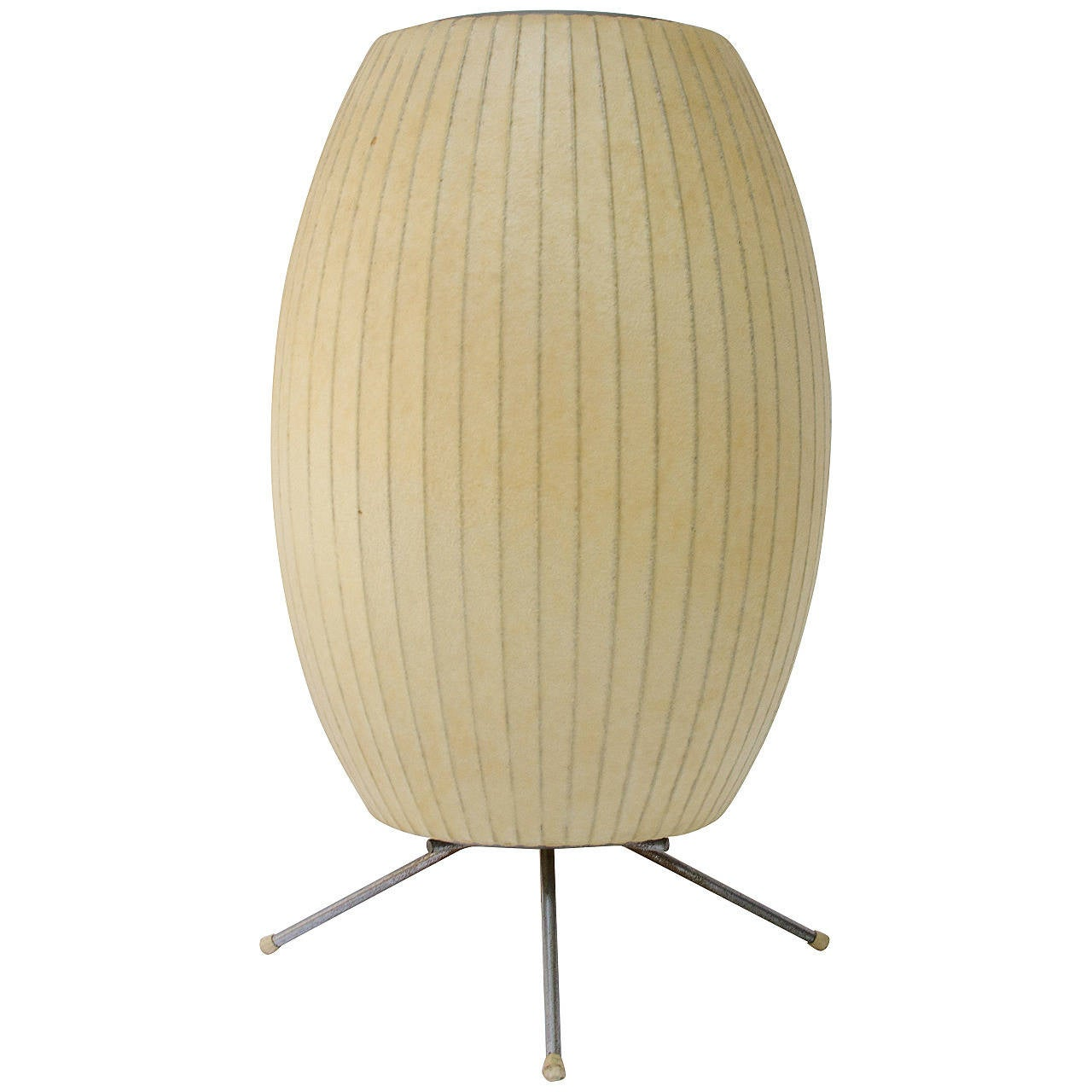 George Nelson For Howard Miller Cigar Tripod Lamp At 1stdibs