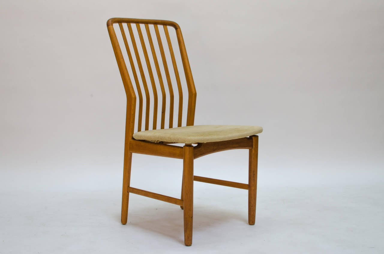 danish modern dining chairs by svend a madsen at 1stdibs