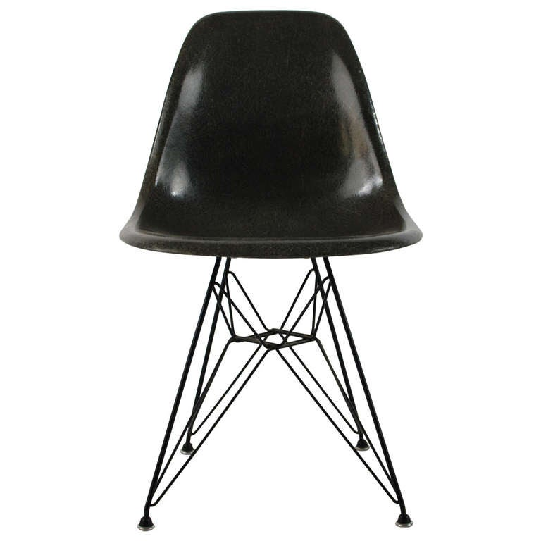 Charles Eames DSR Fiberglass Side Chair Eiffel Tower 1954 At 1s