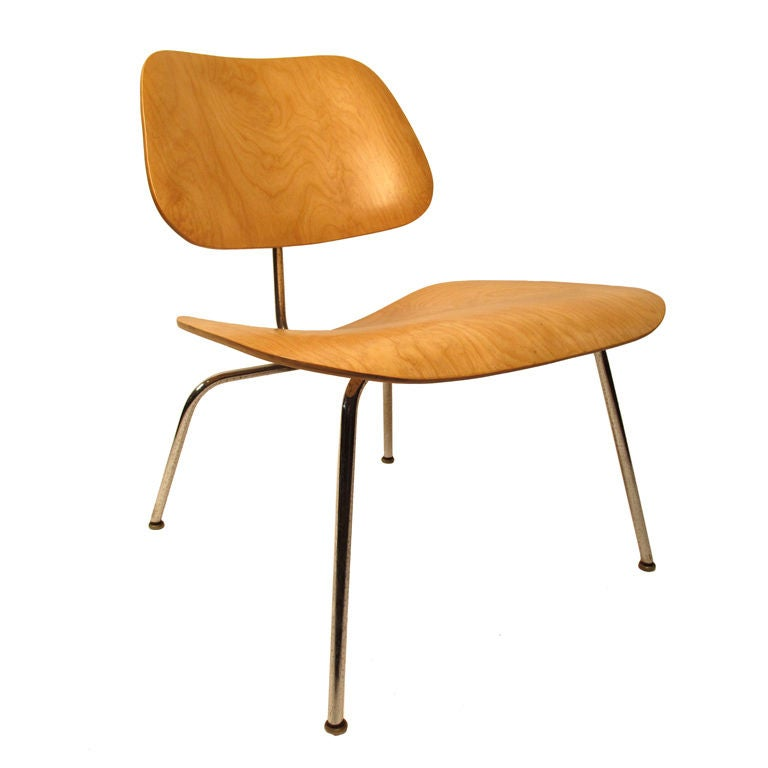 early charles eames for evans lcm lounge chair at 1stdibs. Black Bedroom Furniture Sets. Home Design Ideas
