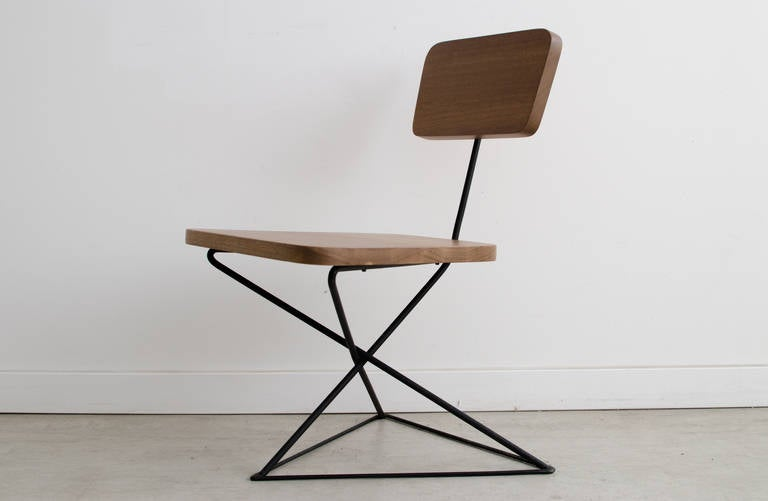Luther Conover Iron Lounge Chair at 1stdibs