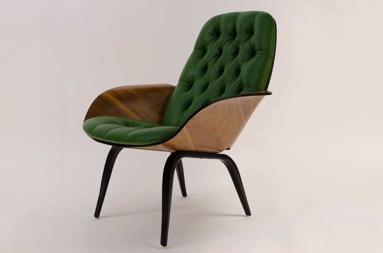 George mulhauser plycraft modled plywood lounge chair at 1stdibs - George Mulhauser Plycraft Modled Plywood Lounge Chair At