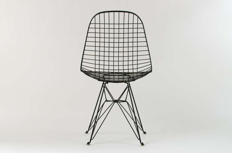 Charles Eames DKR Wire Chair 1950 39 S At 1stdibs