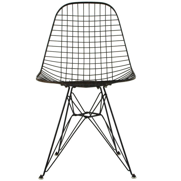 charles eames dkr wire chair 1950 39 s at 1stdibs. Black Bedroom Furniture Sets. Home Design Ideas