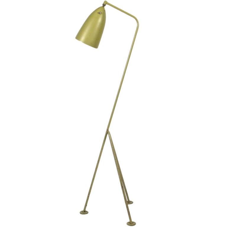 greta grossman grasshopper lamp ralph o smith at 1stdibs. Black Bedroom Furniture Sets. Home Design Ideas