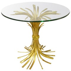 Arturo Pani Golden Spikes Bronze Coffee Table