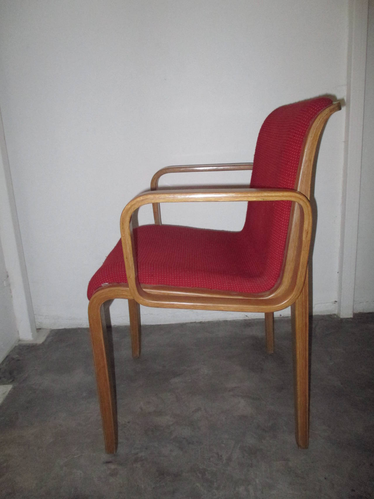 20 Bill Stephens for Knoll Dining Side Chairs at 1stdibs