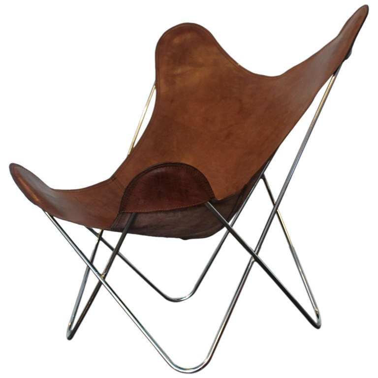 BKF butterfly chair style after Austral group at 1stdibs
