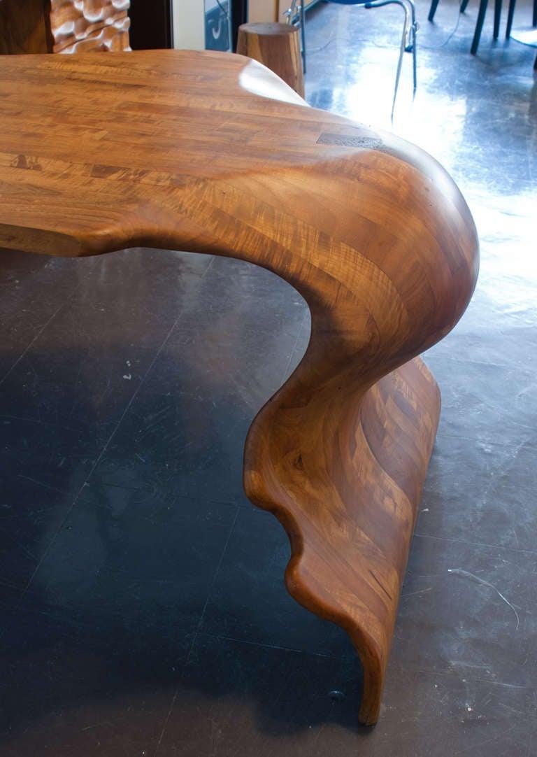 Victor Klassen Organic Desk Unique Piece At 1stdibs