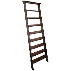 Arturo Pani wooden ladder