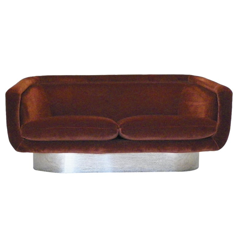 Leon Rosen for Pace furniture rare sofa