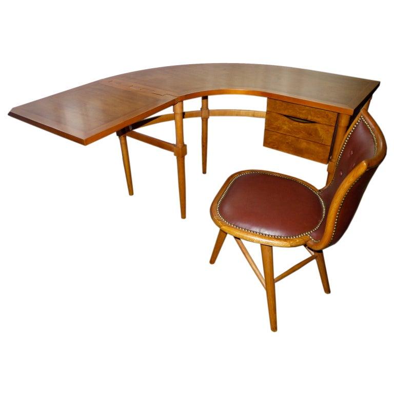 Harold m schwartz personal desk and chair romweber for 1940s furniture design