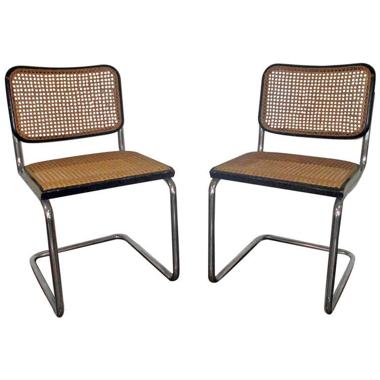 marcel breuer thonet tubular steel chairs eight available at 1stdibs. Black Bedroom Furniture Sets. Home Design Ideas