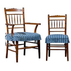 Set of 8 Heirloom Dining Chairs