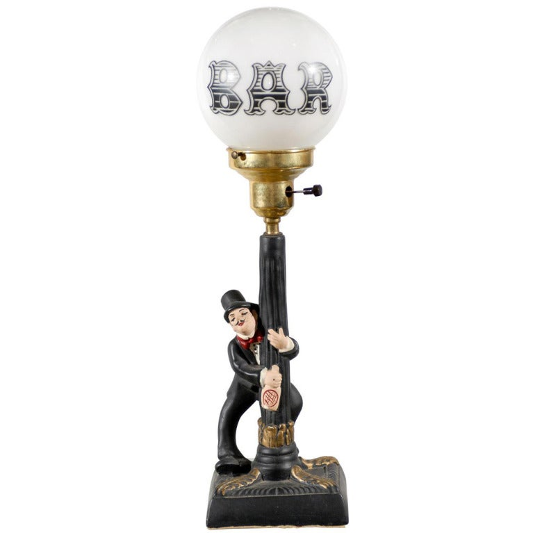 Charlie Chaplin Bar Lamp at 1stdibs