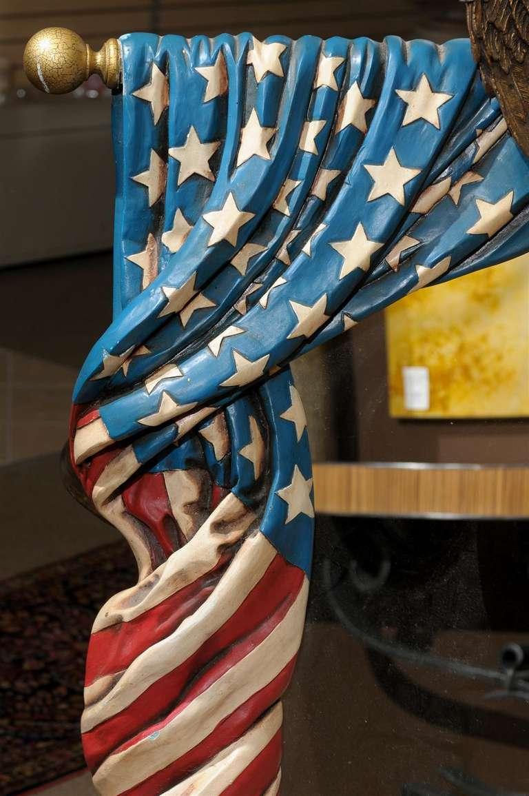 American Flag Mirror At 1stdibs