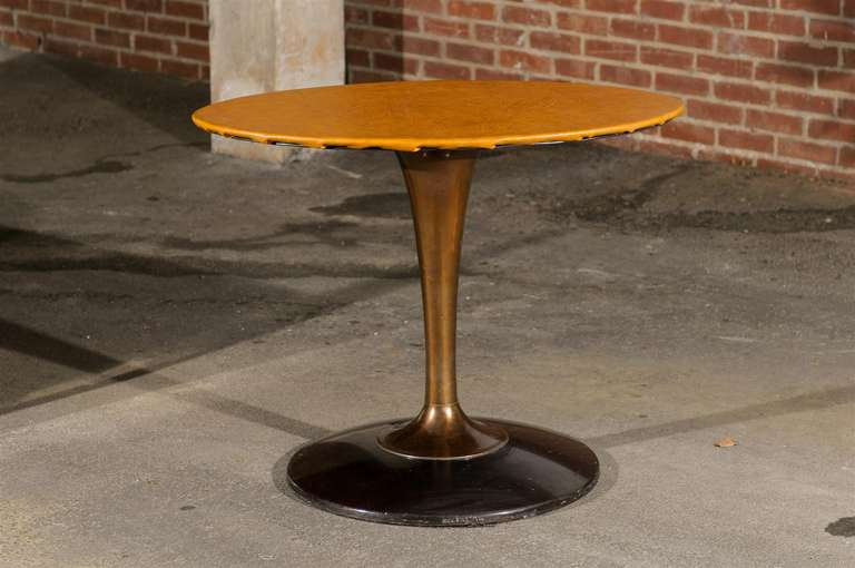 Mid Century Tulip Shaped Table Base At 1stdibs