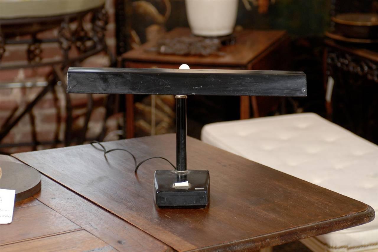 Adjustable Tensor Mid Century Modern Desk Lamp In Good Condition For Sale In Atlanta, GA