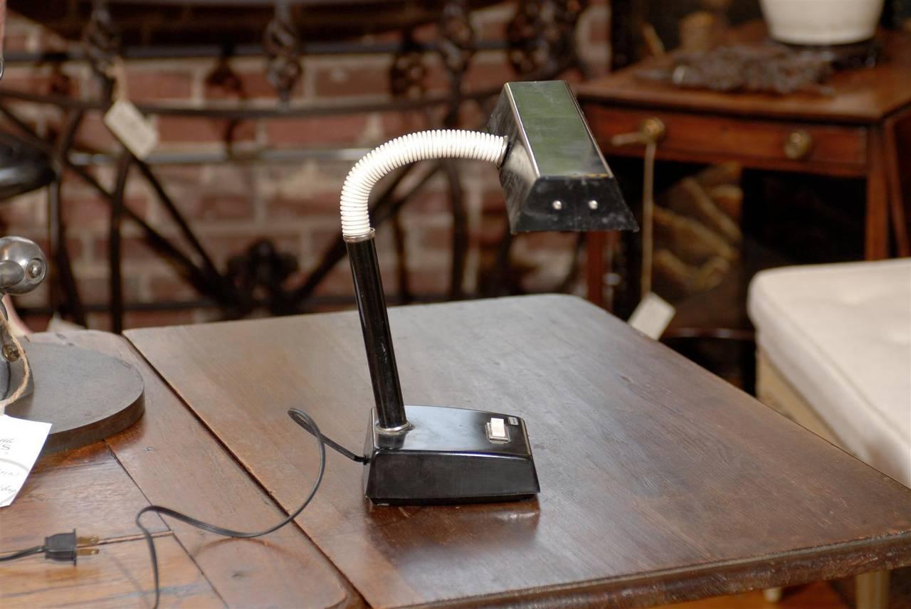 Metal Adjustable Tensor Mid Century Modern Desk Lamp For Sale