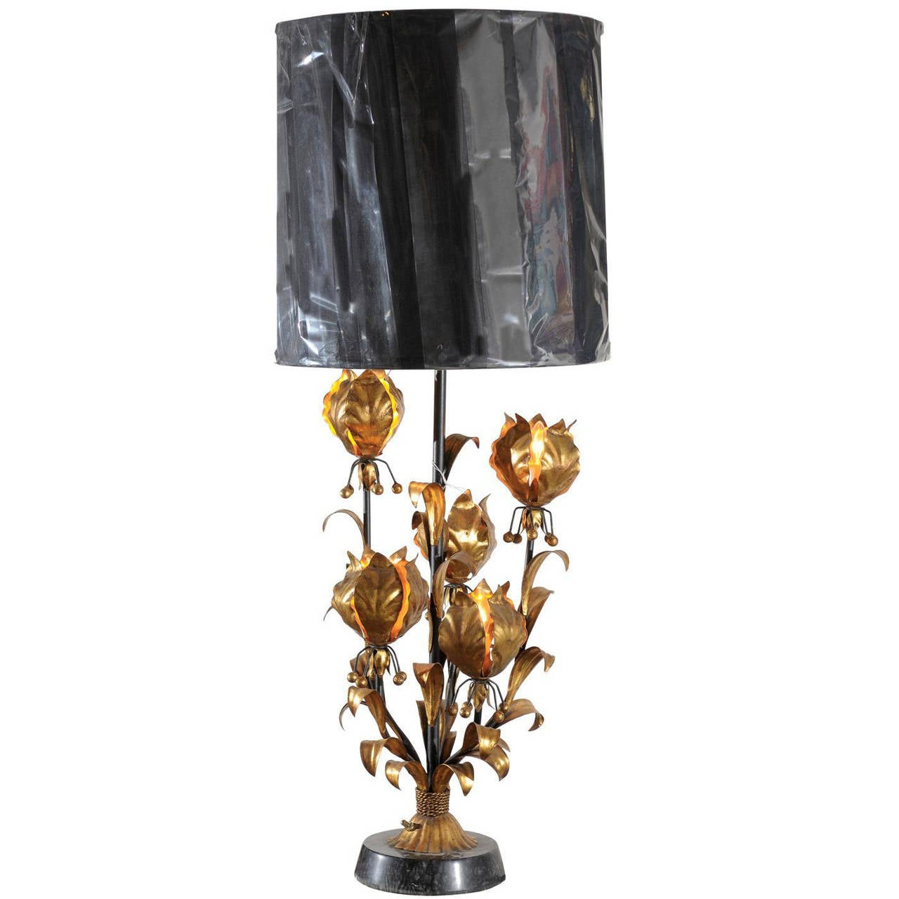 lamp htm floral product sponged p