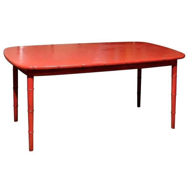 hollywood regency dining table at 1stdibs. Black Bedroom Furniture Sets. Home Design Ideas