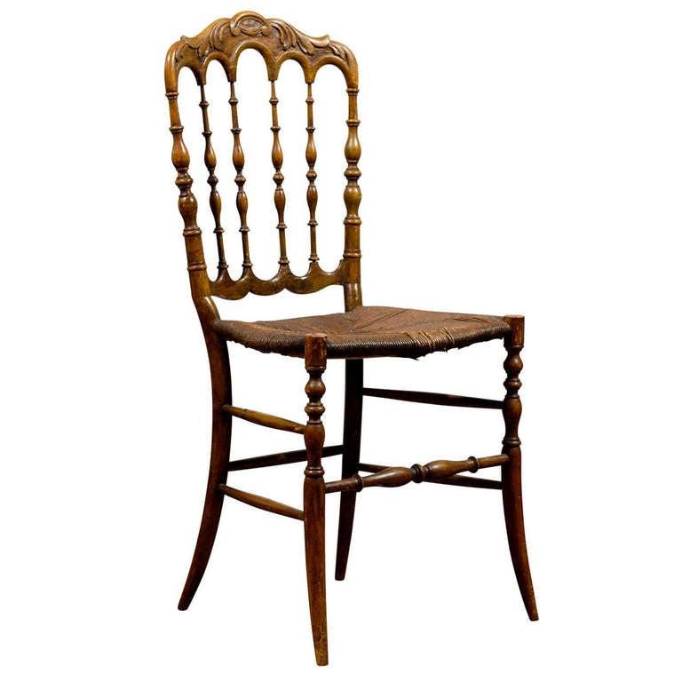 Antique Chiavari Side Chair At 1stdibs