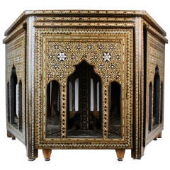 Syrian Mother-of-Pearl Hexagonal Nesting Tables
