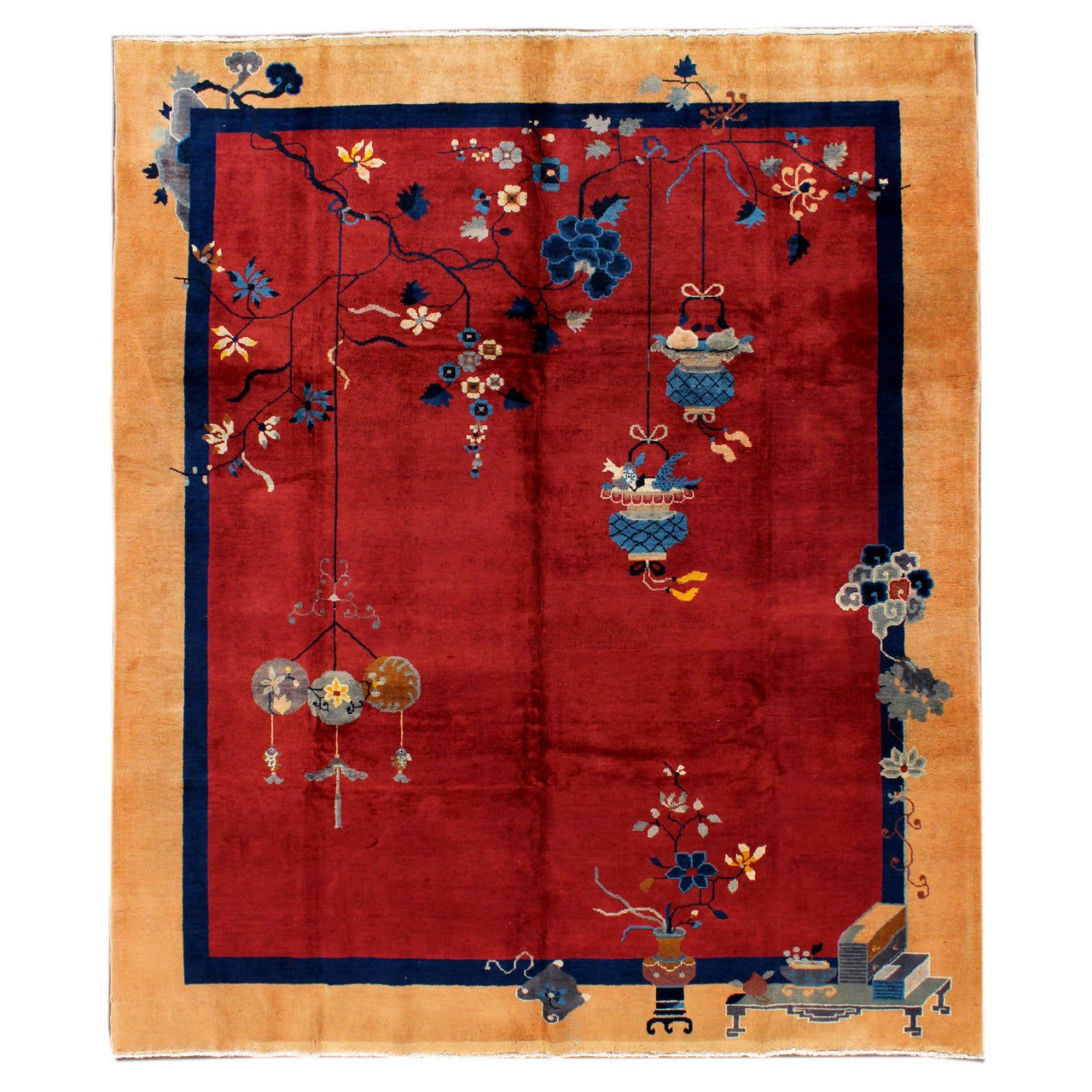 Chinese Carpets And Rugs: Chinese Art Deco Carpet At 1stdibs