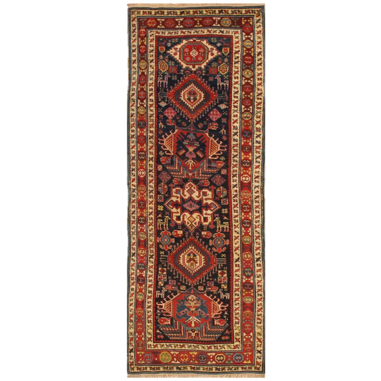 nice looking antique northwest persian runner rug for sale